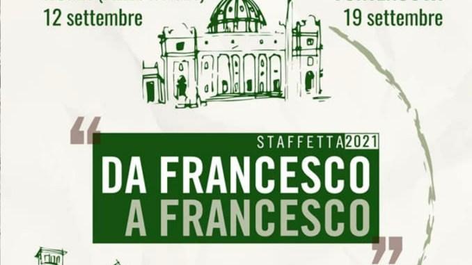 Roma – Assisi: al via la staffetta da Francesco a Francesco 2021