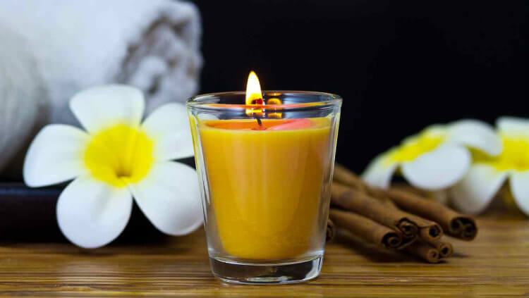 Yellow Candle Money Spell
