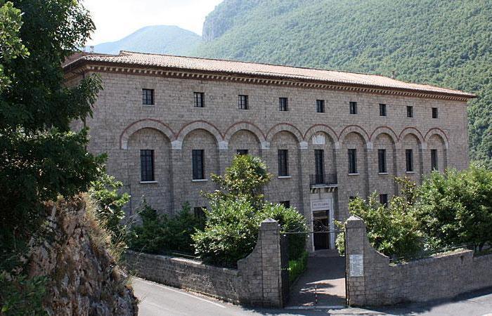Il monastero di Santa Scolastica