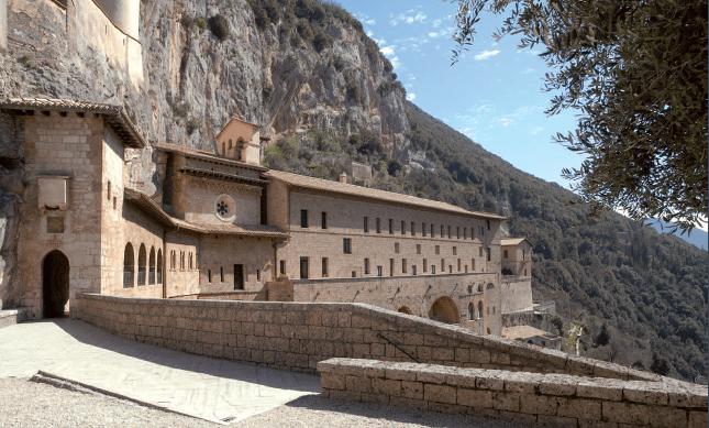 Il Sacro Speco di San Benedetto