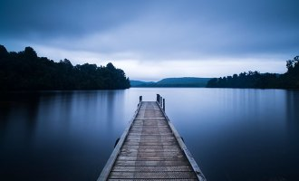 dock, water, defeat, surreal