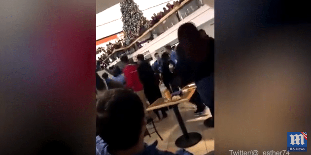 Boxing Day Mall Brawl Video