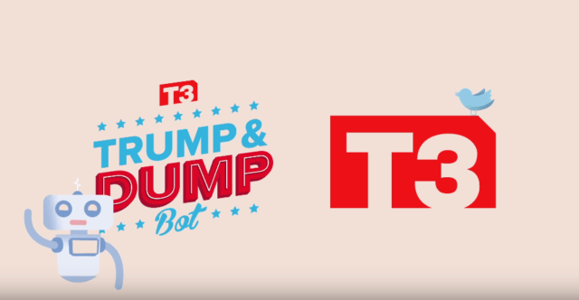 Automated Investing Program Reacts To Trump Tweets (VIDEO)