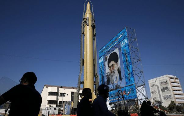 Defiant Iran Test-Fires Ballistic Missile