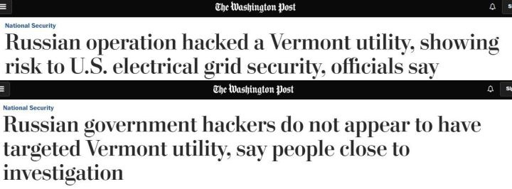 Fake News - Washington Post