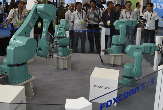 Foxconn - Rise of the Machines - Robots iPhone Manufacturer