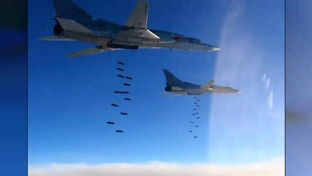 Russia Says They're Working With America In Syria, Pentagon Denies