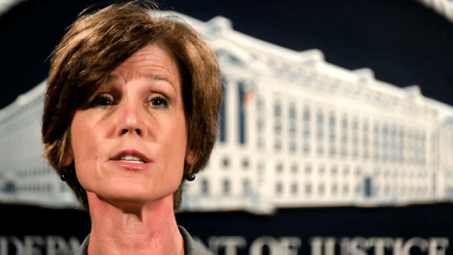 You're Fired! Trump Cans Sally Yates, Hires Boente As Acting Attorney General