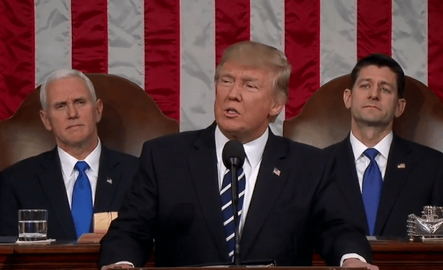 Poll - Trump Speech To Congress Gets High Marks From Americans