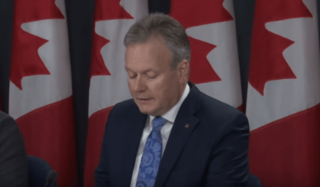 Bank Of Canada Governor On Housing, Investment, & Risks