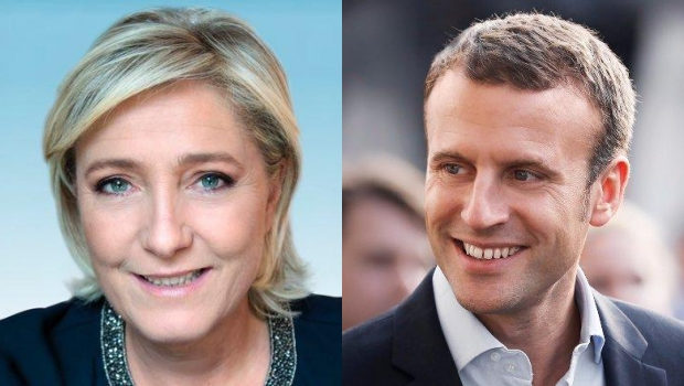 Clear Contrast Between Le Pen & Macron