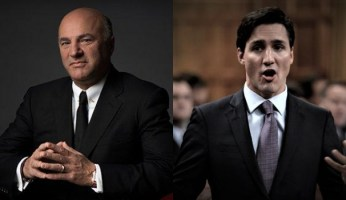Kevin O'Leary Calls Trudeau A Disaster, Rips His Economic Decisions