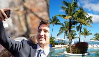 Trudeau Aga Khan Island Trip