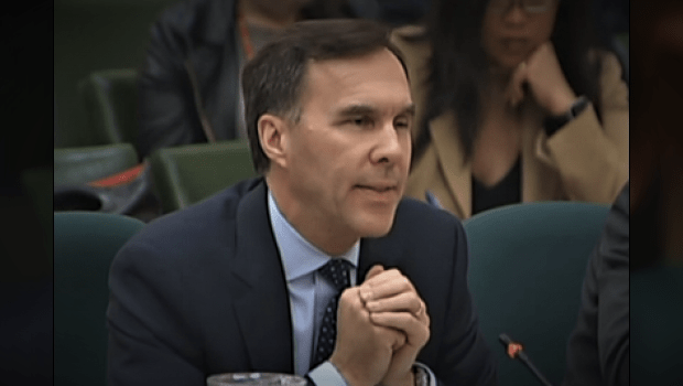Bill Morneau's Pathetic Non-Answers On CORRUPT Infrastructure Bank
