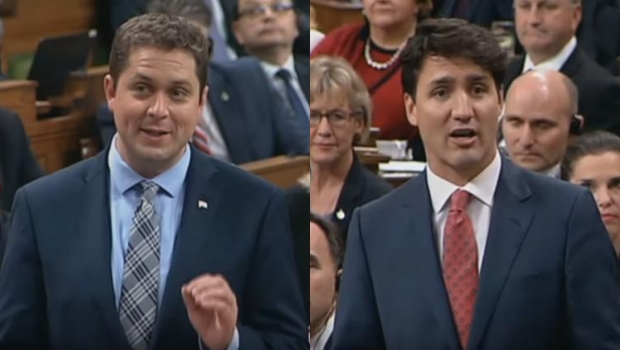 Rattled Trudeau Flubs First Question From Scheer