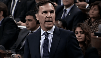 Moneybags Fails To Answer Question On Tax Changes & Morneau Shepell