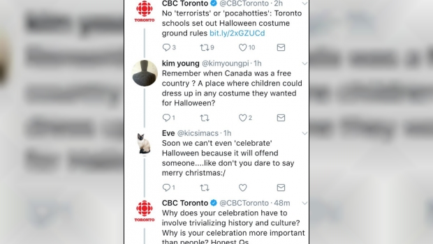 THOUGHT POLICE: CBC News Lectures Canadians About Halloween On Twitter
