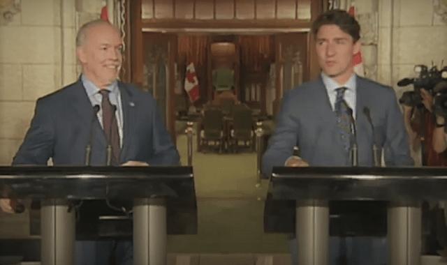 Trudeau Horgan Pipeline Delays Cost Canada