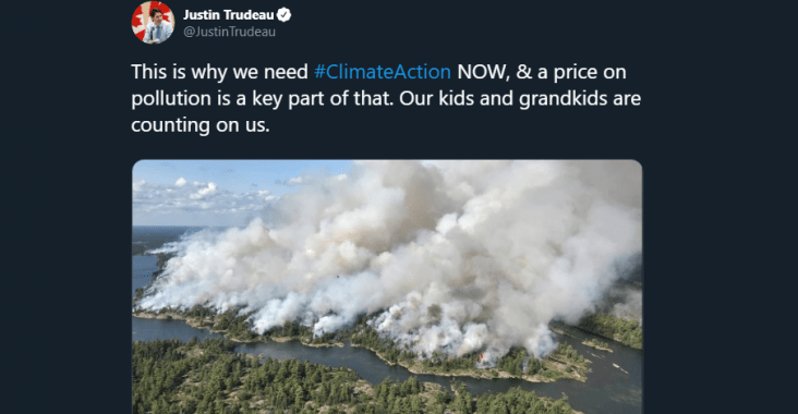 Trudeau Climate Action Fraud
