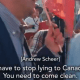 "VIDEO: Scheer Tells Trudeau To His Face, ""Stop Lying To Canadians"""