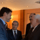 DISGRACE: Trudeau Smiles, Shakes Hands With Iranian Foreign Minister From Regime That Murdered 57 Canadians