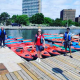 PHOTO: Elitist Liberal Ministers Refuse To Work In Parliament, But They Have Time For Kayaking