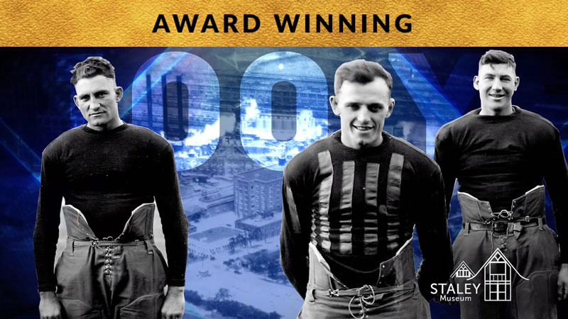 Decatur Staleys Hall of Fame