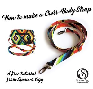 cross body strap tutorial