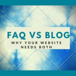 FAQ vs Blog: why your website needs both