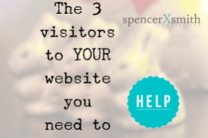 The 3 visitors to your website you need to help