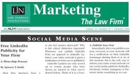 Marketing The Law Firm - Spencer X Smith - Social Media Scene