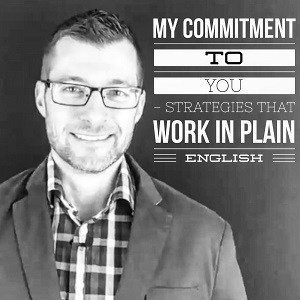 Spencer X Smith - my commitment to you - strategies that work in Plain English