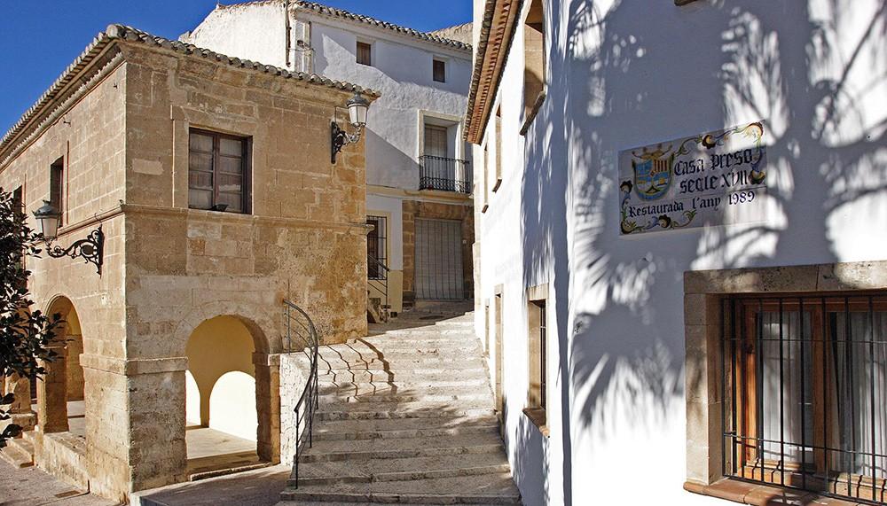 Spanish town Teulada, Costa Blanca