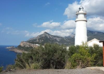 Lighthouse in Port de Soller, Mallorca