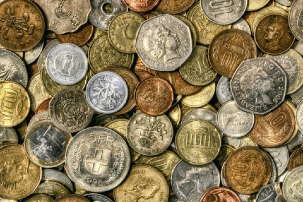 Collecting coins from world travels