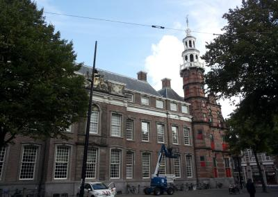 Old city hall in The Hague, The Netherlands