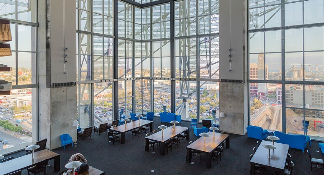 Best places in San Diego to work / study - San Diego public library