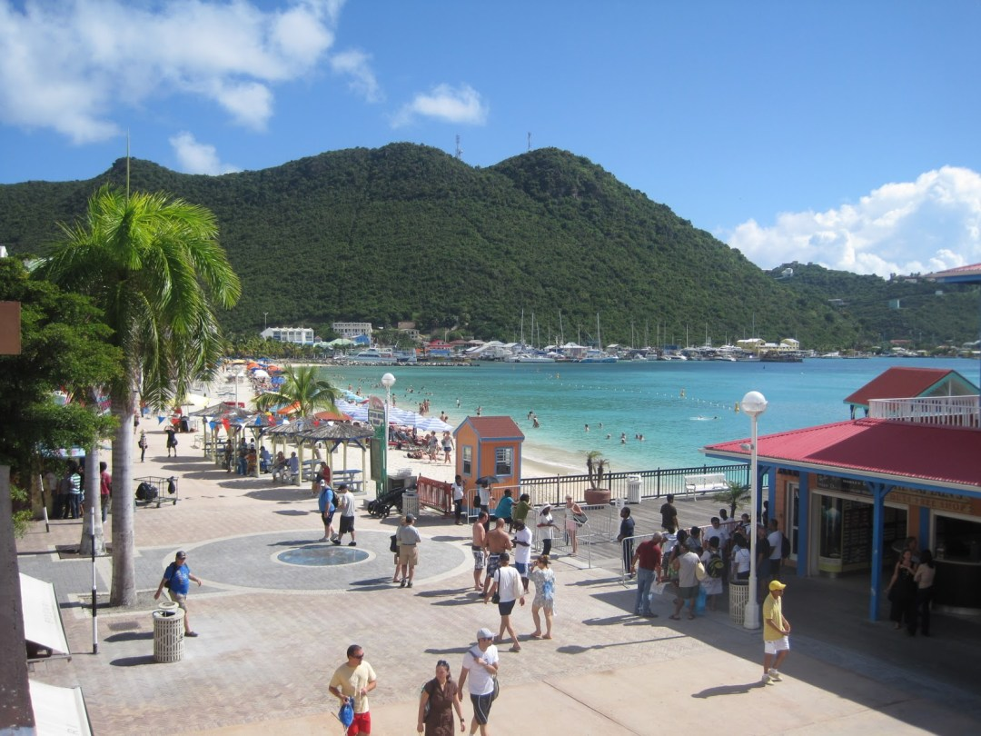St Maarten Boardwalk