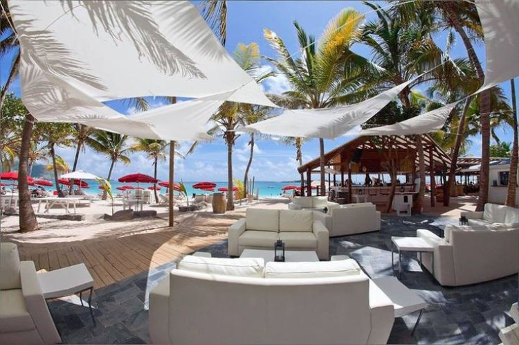 Orient Bay beach club, St Martin - Things to do in St Martin