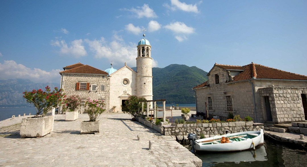 Places to visit around the Bay of Kotor - Lady of the Rocks, Montenegro