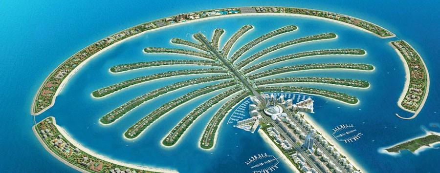 Facts about Dubai: Dubai palm islands