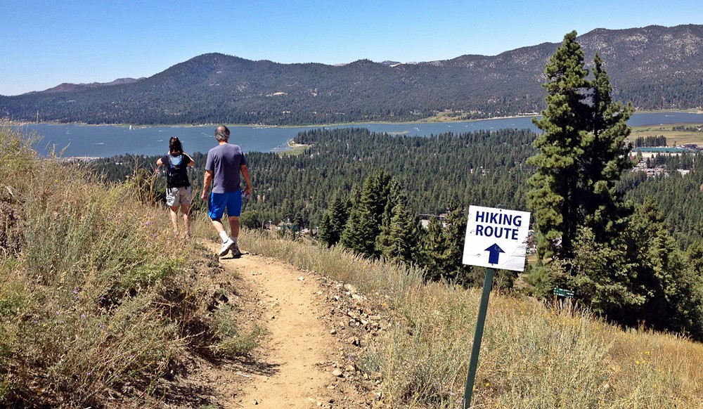What to do on a weekend trip to Big Bear Lake - hiking trails