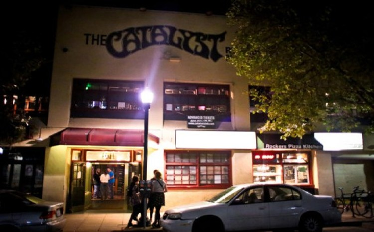 The Catalyst club Santa Cruz