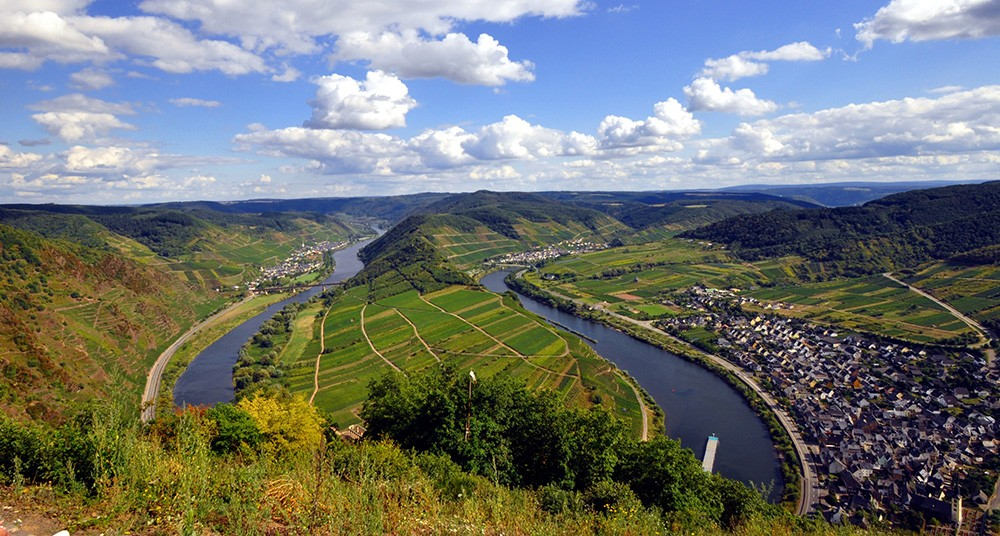 Trier, Germany - hiking and cycling trails