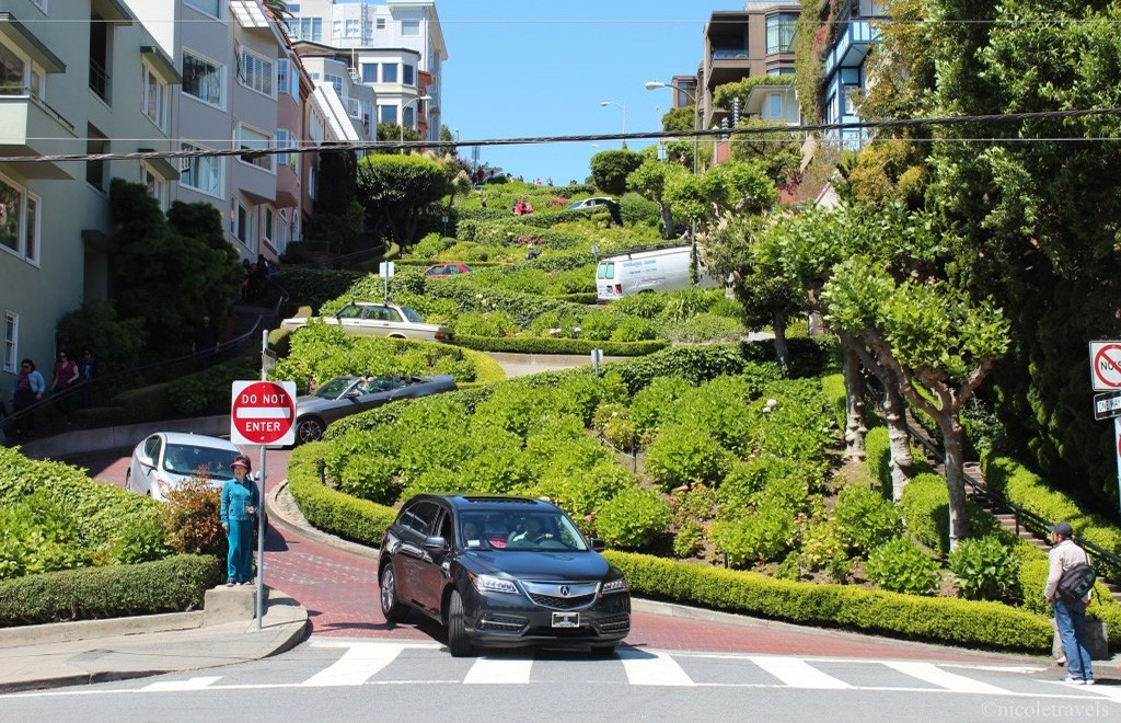 San Francisco must see: Lombard street