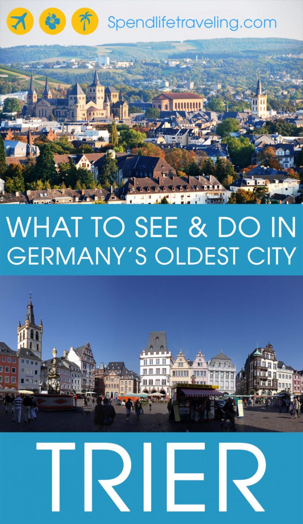 Trier is a beautiful city for anyone who loves history, culture, architecture or just a nice city break. Check out what not to miss in #Trier in this practical city guide with map. #citybreak #citytravel #travelGermany #travelEurope