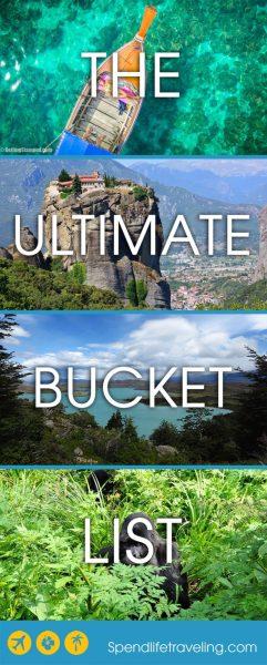 The Ultimate Bucket List: 14 Must Visit Destinations