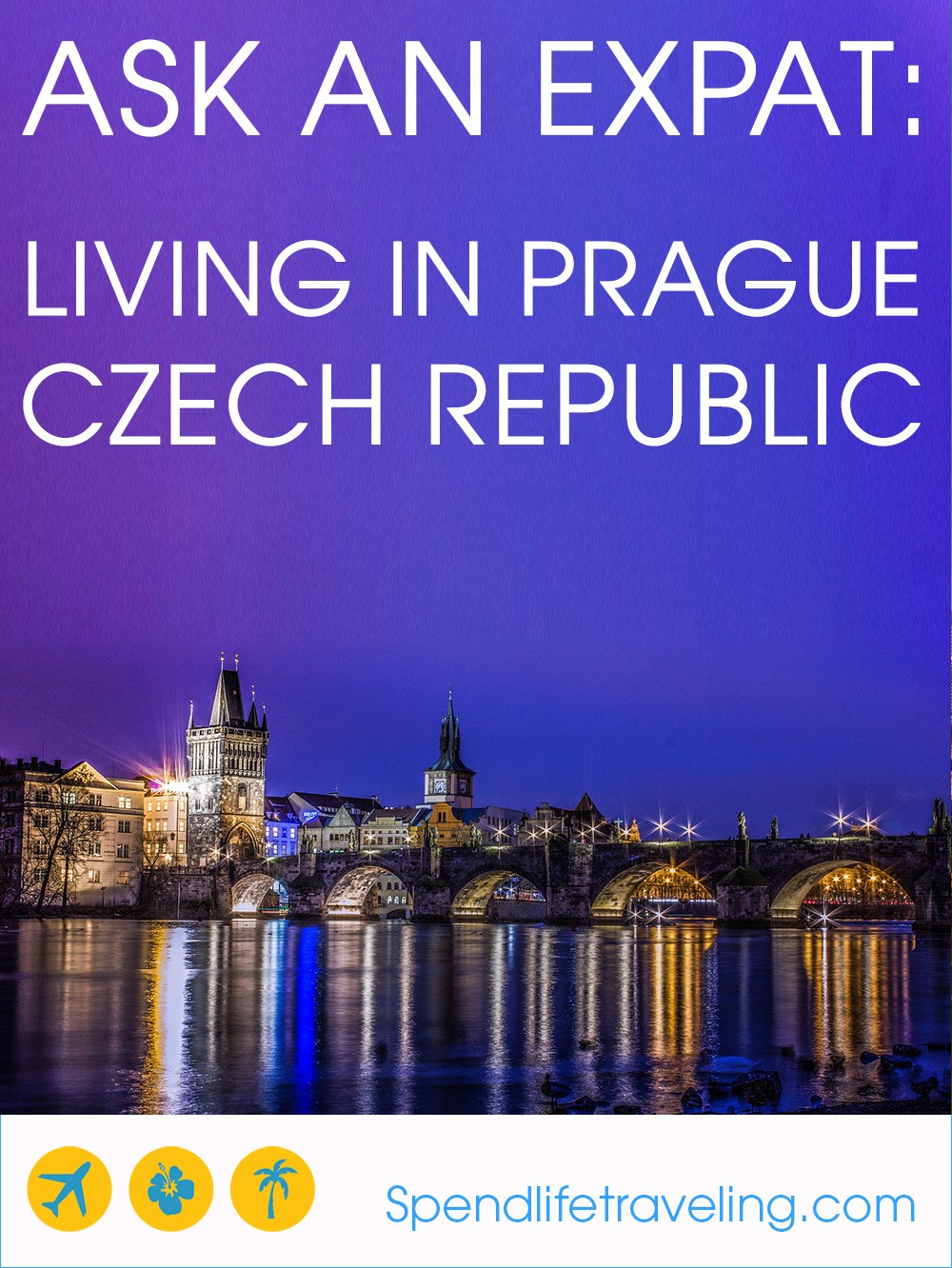 Interview with an expat about what life in #Prague is like. Plus travel tips. #expatlife