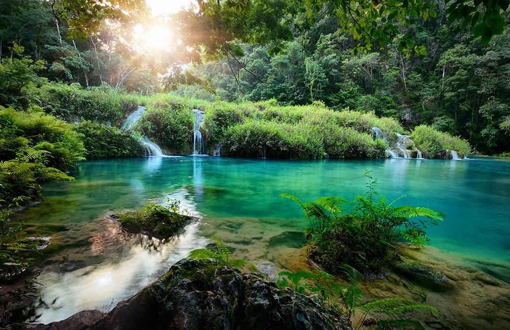 Places not to miss in Guatemala: Semuc Champey