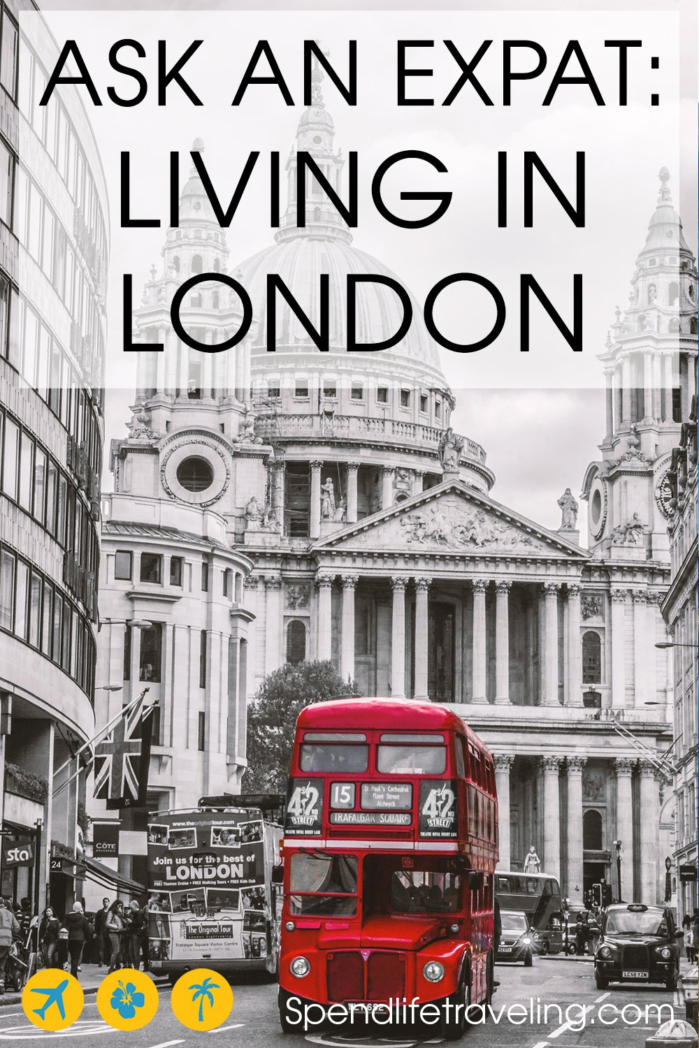 Expat life in London: Interview about moving to and living in London. #expat #london #moveabroad